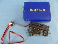 EGGER-BAHN aiguillage gauche électrique + boite 3602 état neuf échelle HOe