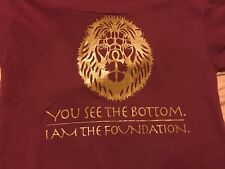 You See The Bottom. I am The Foundation. Inspire Apparel unisex graphic tees