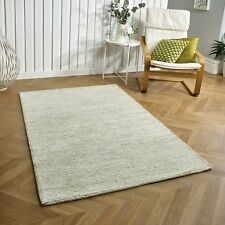xxLarge Large modern desgin 100% wool quality  rug green floor carpet mat