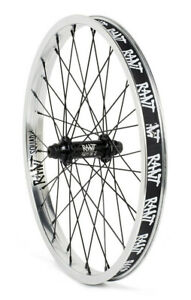 """RANT PARTY ON V2 BMX BIKE 20"""" FRONT WHEEL SHADOW SUBROSA BSD CULT GT HARO SILVER"""