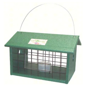 Bluebird mealworm Jail Feeder - Recycled- Amazing Feeder! - Made in the USA!