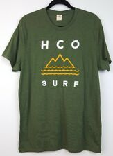 Hollister T Shirt Mens Size XL HCO Surf Short Sleeve Embroidered Applique Logo