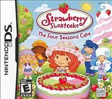 Strawberry Shortcake THE FOUR SEASONS CAKE DS! DSI, LITE, XL, 3DS! FAMILY GAME