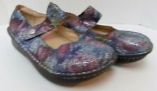 Alegria by PG Lites Clogs Multi-Color Metallic Leather Size 40 (US 9.5-10)
