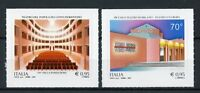 Italy 2017 MNH Theatres Theaters Castelfiorentino 2v S/A Set Architecture Stamps