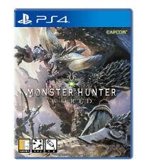 Monster Hunter World  Korean - PS4 PlayStation 4 GAME