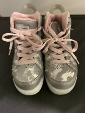 Sketchers Energy Lights 2.0 Pink And Gray High Tops Light Up Shoes size 11 US