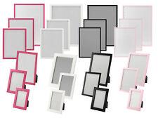"""IKEA """"FISKBO"""" Bilderrahmen in 4 verschiedenen Farben und 6 Größen"""