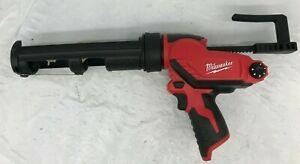 Milwaukee 2441-20 M12 12-Volt 10-Ounce Caulk And Adhesive Gun, V.G M