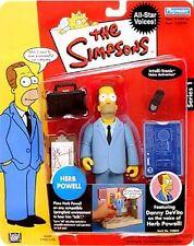 The Simpsons Series 1 Herb Powell Action Figure NIB Playmates Toys Fox