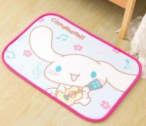 Cinnamoroll dog square Floor Mat Carpets Bedroom Rug mas rugs anime
