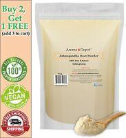 1 lb. Ashwagandha Root Powder 16oz  Non Gmo Withania somnifera  Indian ginseng