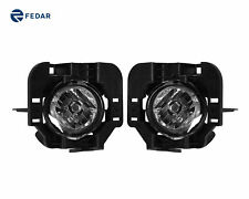 Clear Lens Fog Light Assembly Pair Fits 2007-2009 Nissan Altima Sedan/Coupe