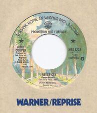 ALICE COOPER * 45 * I Never Cry * 1976 * USA * Stone MINT UNPLAYED ! * DJ PROMO