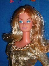 Foto de moda vintage de 1977 Superstar era Muñeca Barbie & Parte Original Traje