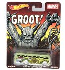 Surfin School Bus Hot Wheels Marvel Groot  Real Riders Pop Culture 1:64 Scale