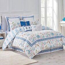 Dena Home Sky Comforter Set - Blue/White - Full/Queen Size