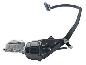 "28-31 Hot Rod Universal Frame Mount Brake Pedal & 7"" Dual Proline Booster Kit"