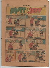 1940s Issue of Mutt & Jeff Comic Book by Bud Fisher
