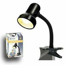 Sansai Clip-On Desk Lamp - Black