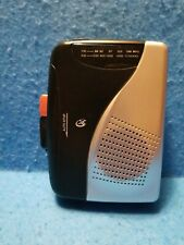New listing GPX Model CAS335B Walkman Style AM/FM Portable Cassette Player Tested, Working