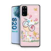 Samsung Galaxy S20 Plus Schutzhülle Silikon Hülle Case Motiv Süße Kuh Bumper