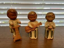 """Fitz & Floyd Ff Japan Stoneware Figurines ~5.5"""" Collectibles Lot Of 3 Vintage"""