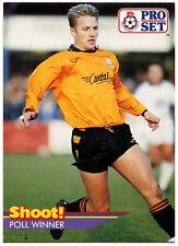 Gary Bull Barnet #433 Pro Set Football 1991-2 Trade Card (C364)