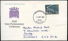 GB FDC 1975 interparlamentare Conf., Swansea IED #C 23257