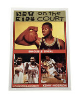 New Kids on the Court Shaquille O'Neal Oddball Trading Card