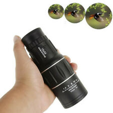 16x52 HD Zoom Monocular Day Night Vision Dual Focus Optical Telescope Hunting