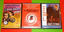 LA SOGA + LA VENTANA INDISCRETA + VERTIGO / ROPE + REAR WINDOW + VERTIGO -DVD R2