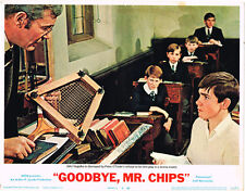 Goodbye Mr Chips Peter O'Toole in classroom Sherborne School original lobby card