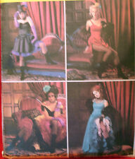SEWING PATTERN McCalls 3674 MOULIN ROUGE SALOON CAN CAN GIRL 14-20