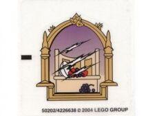 LEGO 4757 - HARRY POTTER - Hogwarts Castle - STICKER SHEET