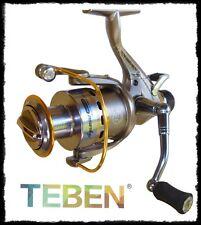 mulinello Teben Aquarius 4000 frizione libera pesca fondo carpa orata ledgering