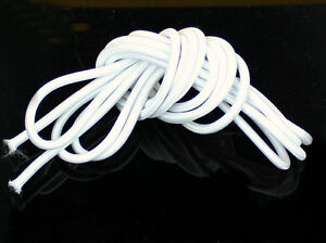 3 Yards White 5.0 mm Round Elastic Cord for 70CM SD Ball Jointed Doll BJD