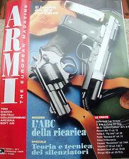1995 RIVISTA 'ARMI' ANNO I n° 1 DA TIRO CACCIA COLTELLI COLLEZIONISMO SOFT AIR