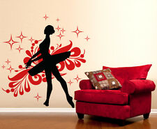 00691 Wall stickers Adesivi murali Ballerina Classica danza ballo 95x100cm