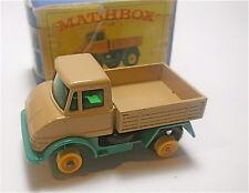"""Vintage Matchbox Lesney  """" Unimog """"  MPN# 49  (front tire is missing)"""