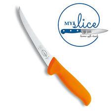"F Dick 6"" Curved MasterGrip Boning Knife 8.2891.15  - Hi Vis Orange Handle -"