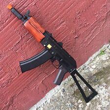 Airsoft CYMA AK74u Full Metal Real Wood AK AEG