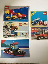 Lego Town Truck Boat Semi Manual Instructions ONLY 6596 4543 1821 3442 6698