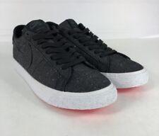 Nike SB Zoom Blazer Low Canvas Deconstructed Size 7 Black Shoes
