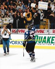 RAY BOURQUE Returns 2 BOSTON After TRADE Curtain Call 8x10 AVALANCHE/BRUINS HOF