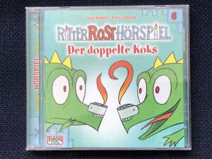 Ritter Rost Hörspiel - Der doppelte Koks - Audio-CD - sehr guter Zustand