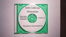Debt Collector Elimination Software Program CD