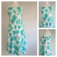 Marks and Spencer Per Una Floral Dress Size 12 (R1)