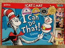 DR. SEUSS, THE CAT IN THE HAT - I CAN DO THAT GAME - AGES 4-8 -