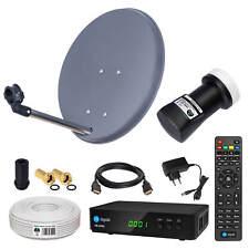Anlage HD SAT Mobile Camping LNB Koaxialkabel Satanlage Receiver 40cm kabel